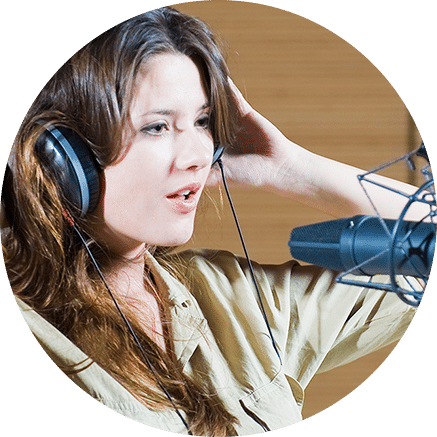 Woman Voice Talent