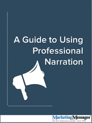 A_Guide_To_Using_Professional_Narration, Marketing Voice Partner
