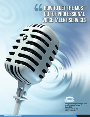 Getting The Most Out Of Professional Voice Talent Services