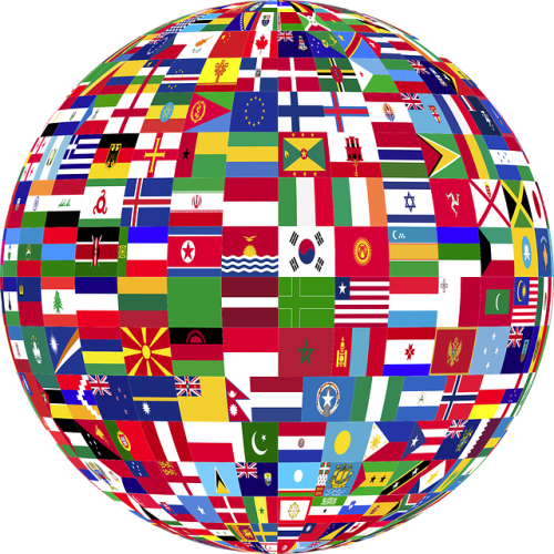 voice recordings for call center globe world flags