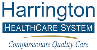 Visual representation of the Harrington Healthcare System logo
