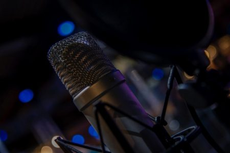 microphone studio spider