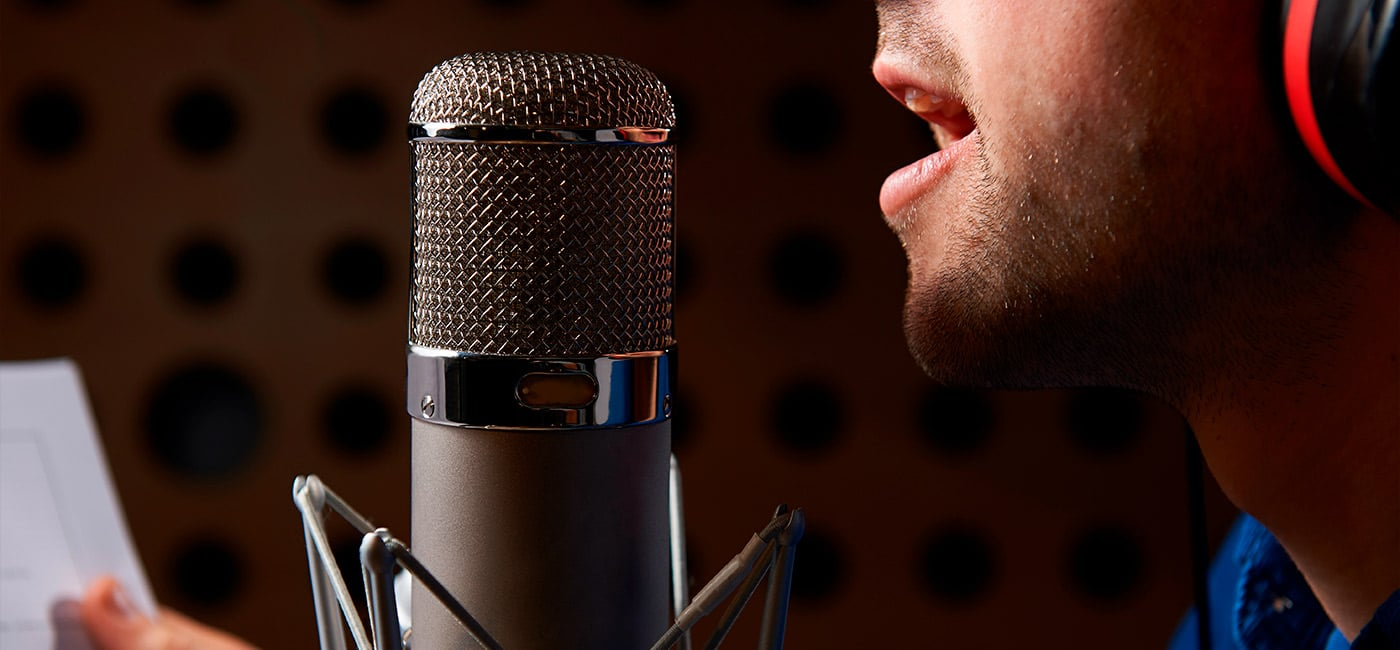 voice recording, about marketing messages
