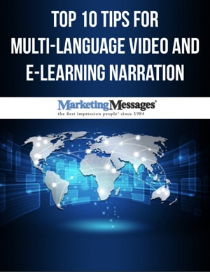 Top 10 Tips for Multi Language Video and E-Learning Narration