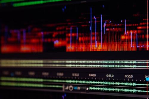 audio editor program window